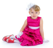 Little charming fashionista Stock Photos