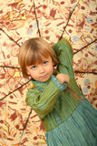 Little charming girl Royalty Free Stock Photography