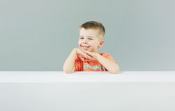 Little charming model with pretty smile Stock Photography