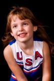 Little Cheerleader Stock Photography