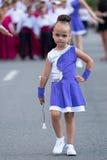 Little cheerleader Stock Images