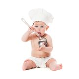 Little chef Royalty Free Stock Photos