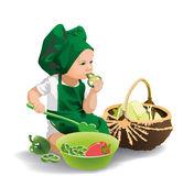 Little chef Stock Image