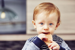 Little chef Stock Photography