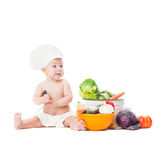 Little chef cooks Royalty Free Stock Photography