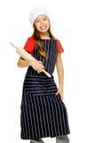 Little chef girl Stock Photo