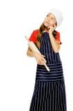 Little chef girl Stock Photography