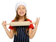 Little chef girl Stock Photos