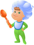 Little chef Royalty Free Stock Image