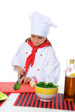 Little Chef in uniform. Stock Images