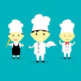 Little chef Vector Illustration Royalty Free Stock Photo