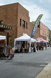 Little Chicago Festival - Caricatures Booth. Johnson City, Tennessee United States 08-11-2017 Little Chicago Festival - Caricatures Booth stock images