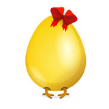 Little chicken in egg. Vector Stock Photography