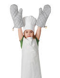 Little chief cook Royalty Free Stock Photography