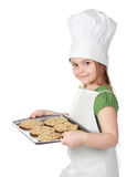 Little chief cook Stock Images