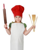 Little chief cook Royalty Free Stock Photos