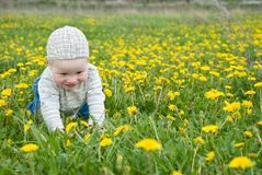 Little child Royalty Free Stock Photography