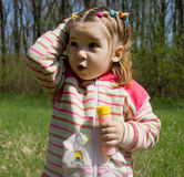 Little child. Portrait of nice little child Royalty Free Stock Images