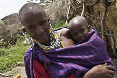 Little child in Africa Royalty Free Stock Photos