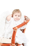 Little child an angel Royalty Free Stock Photo