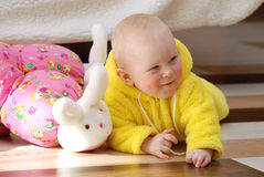 Little Child Baby Royalty Free Stock Images