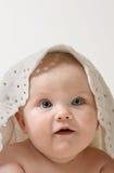 Little child baby. Closeup portrait Stock Images