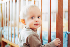 Little Child Baby Boy Royalty Free Stock Image