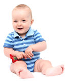 Little child laughing Royalty Free Stock Image