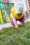 Little child at playground Stock Photography