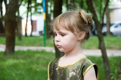 Little child portrait Royalty Free Stock Photography