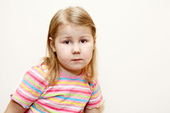 Little child portrait Stock Photo