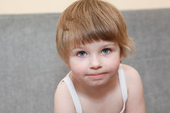 Little child portrait Stock Image