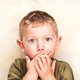 Little child portrait Stock Photography