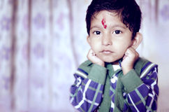 Little child posing for camera Royalty Free Stock Photo
