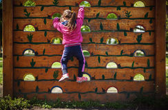 Little Child on Recreation Stock Images
