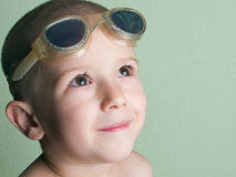 Little child smiling Stock Photography