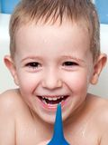 Little child smiling Stock Photo