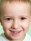 Little child smiling Royalty Free Stock Photo