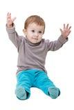 Little child smiling Stock Photo