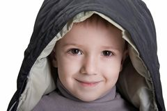 Little child smiling Stock Image