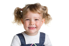 Little child smiling Royalty Free Stock Images
