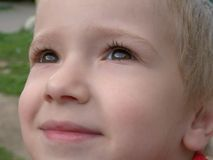 Little child smiling Royalty Free Stock Photos