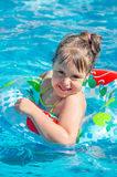 Little child in water Royalty Free Stock Photography