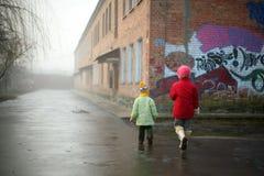 Little children royalty free stock photos