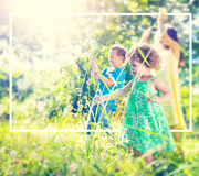 Little Children Playing Relaxation Holiday Concept Royalty Free Stock Photography