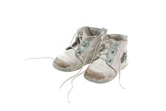 Little children shoes Royalty Free Stock Photography