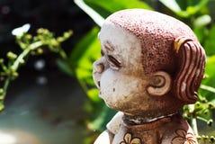 Little Children  statue in soft light Stock Photos