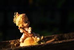 Little Children  statue in soft light Stock Image