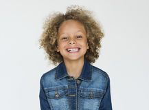 Little Children Studio Shoot Concept royalty free stock photography