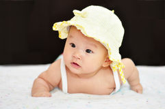 A little chinese baby Royalty Free Stock Photos